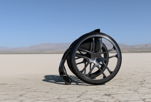 Silla de ruedas de fibra de carbono